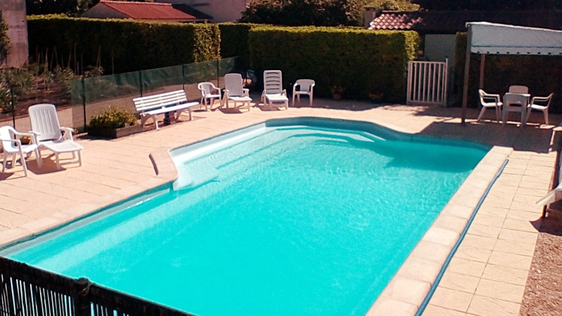 Enclosed, Gated, Heated Pool